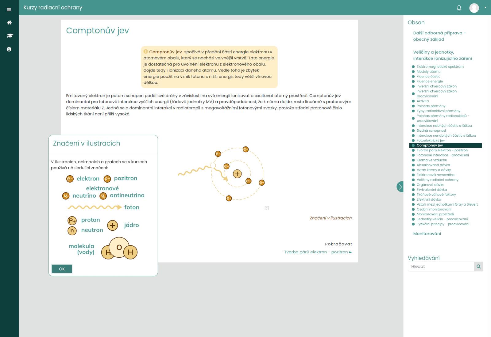 ukázka slajdu s animací